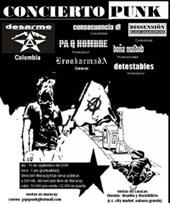 Toque Anarcopunk en Maracay el 10 de septiembre