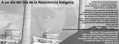 Evento sobre el carbon en Zulia el 11 de octubre en Caracas