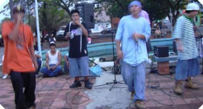 Foto de la 1ra Toma de las Artes de Calle