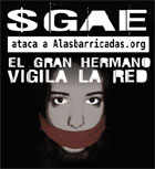 La SGAE ataca a Alasbarricadas.org