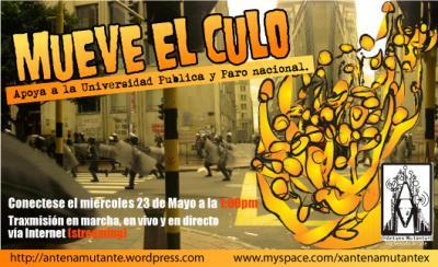 MUEVA EL CULO (((ANTENA MUTANTE)))