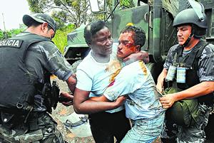 Ecuador: Represion